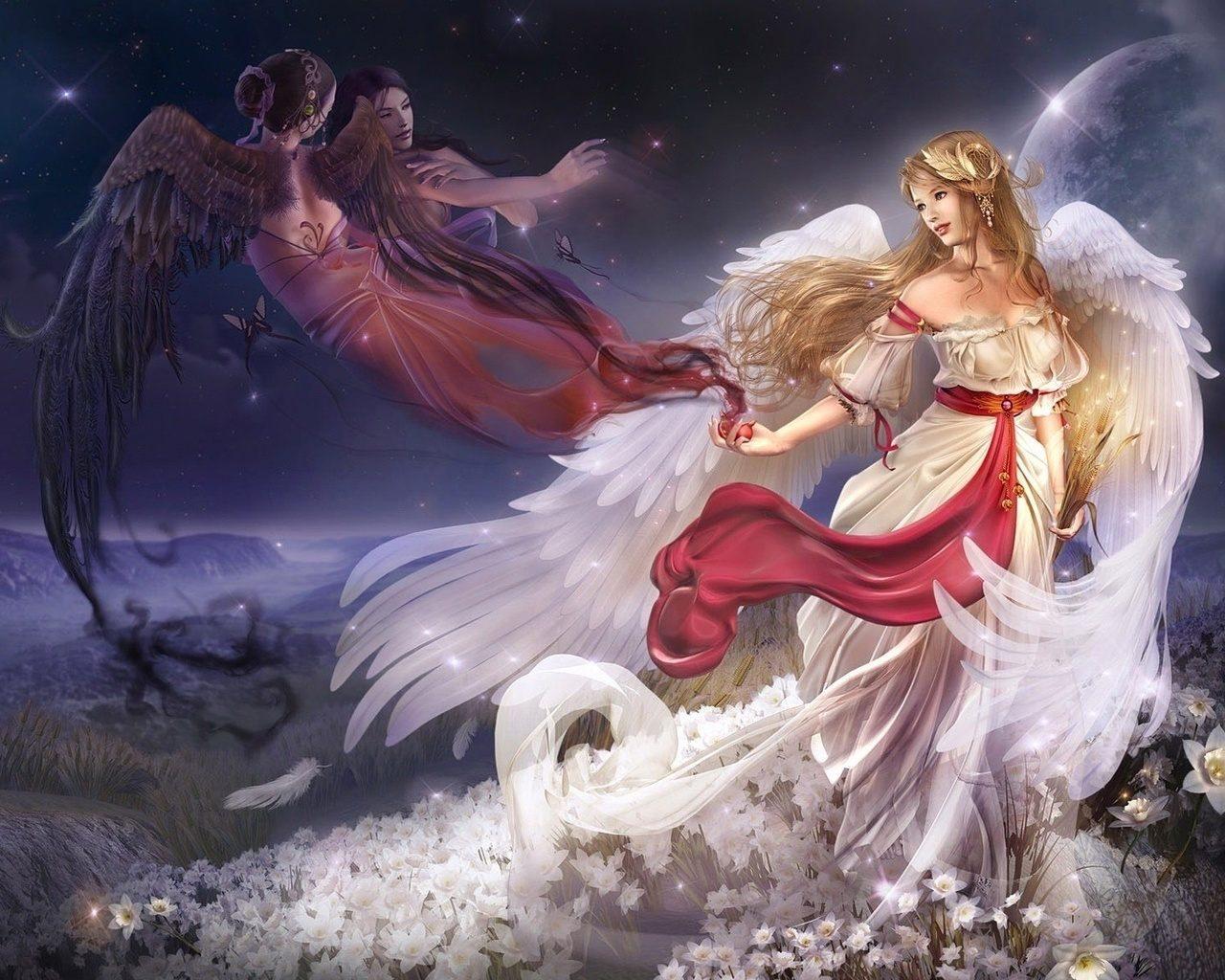 Dibujos de ángeles