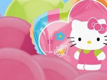 Hello Kitty de rosa
